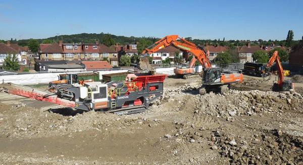 山特维克移动为拆除和回收承包商提供成果