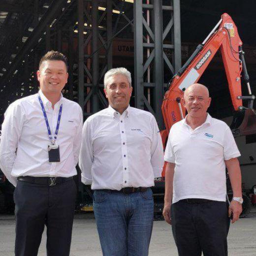 马来西亚的Sandvik移动破碎机和筛分新分销商