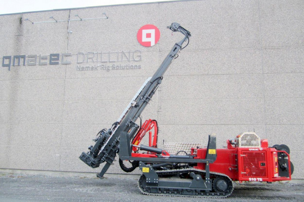 Sandvik 建筑在英国提供 Qmatec 钻机解决方案