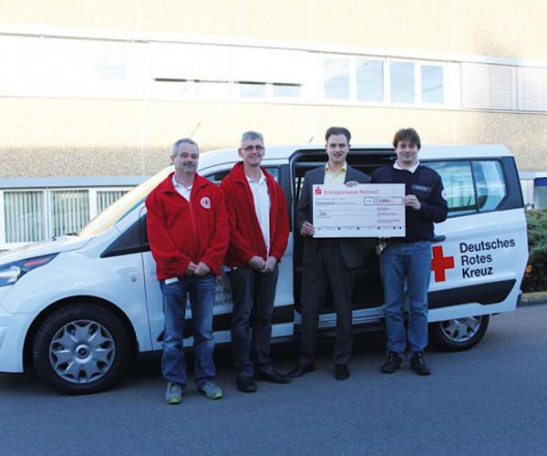 SIMON 集团:捐赠给新的 DRK 车辆