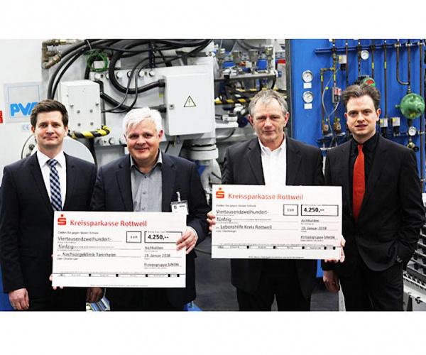 SIMON 集团向两家社会机构捐款