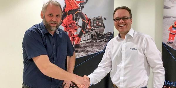 Qmatec 钻井与山特维克建筑签署分销商协议