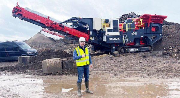 Retec 被任命为伦敦和东南部山特维克移动破碎机和屏幕的分销商