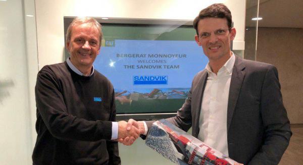 法国Sandvik移动破碎机和屏幕的新经销商