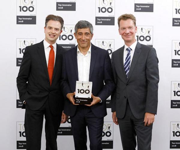 TOP 100 的成功:卡尔·西蒙是 2018 年的创新领导者之一