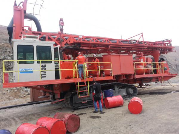 艾尼克工控为神华准格尔露天煤矿提供山特维克牙轮钻头