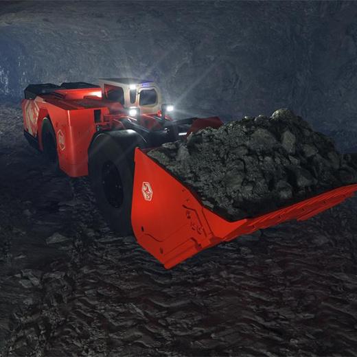 Sandvik 向柯克兰黄金公司交付 Artisan A10 电池-电动装载机