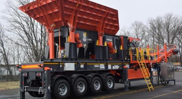 山特维克采矿和岩石技术推出轮式钳口和冲击破碎机进入美国市场