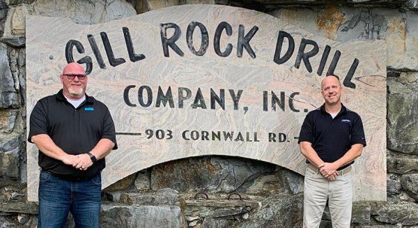 Gill Rock Drill 为新泽西州以及马里兰州、弗吉尼亚州和宾夕法尼亚州东部的县指定了山特维克采矿和岩石技术繁荣钻探的新分销商