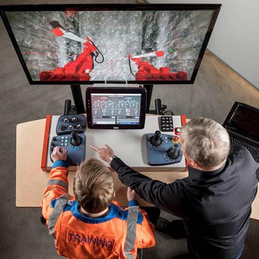山特维克推出新的地下钻井操作员培训模拟器,随时随地学习