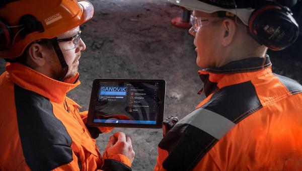 山特维克岩石工具在ConExpo上展示其最新的数字解决方案