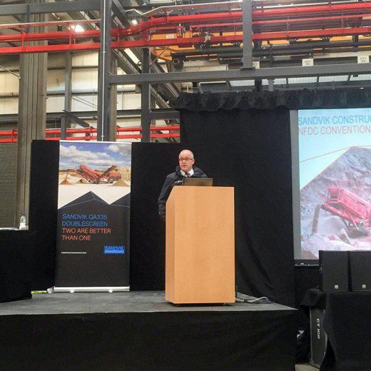 山特维克·巴利高利帮助主办2015年NFDC大会