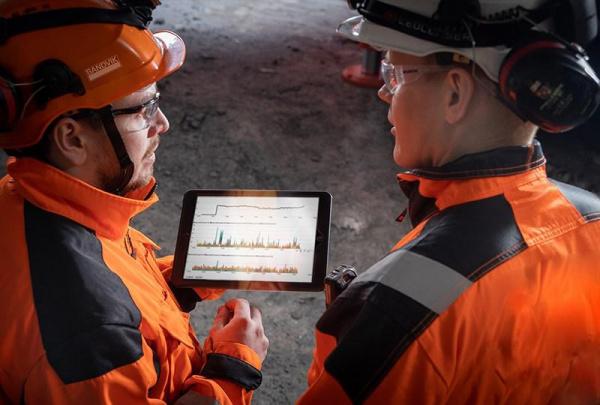 山特维克远程监控服务通过分析提高运行时间