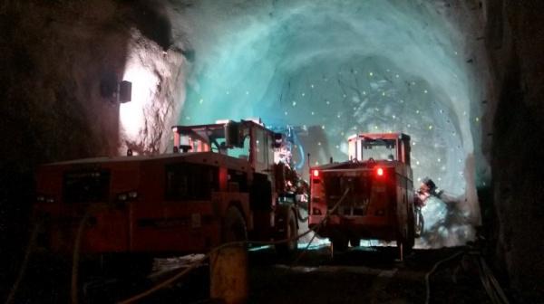 山特维克凿岩台车在里约热内卢地铁西扩项目广泛使用