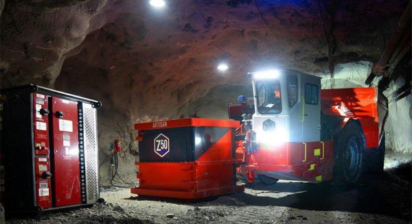 山特维克合作伙伴与普雷蒂夫姆为布鲁斯杰克矿电池电动卡车