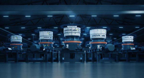 新的山特维克 CH800i 系列 – 互联破碎革命