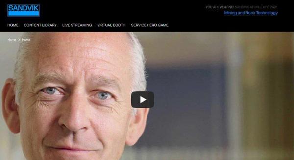 山特维克为MINExpo国际推出微型网站®2021年