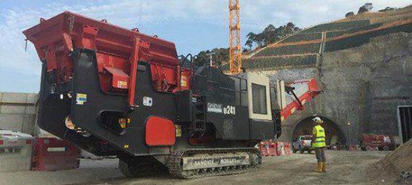 香港主要基建发展方面的山特维克基本设备