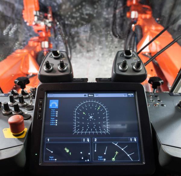 TCAD® 系统提供先进的钻孔精度和爆破经济性