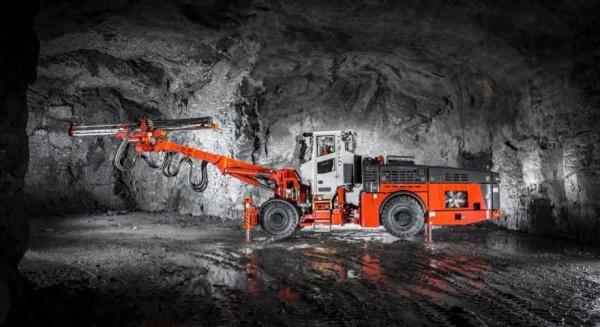 山特维克 DT912D 为地下矿物挖掘提供出矿效率